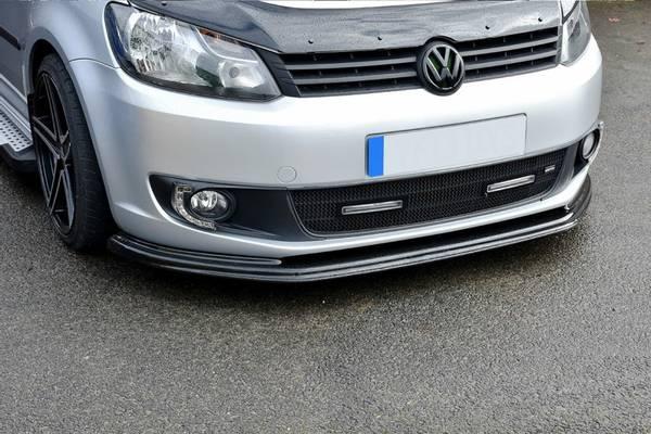 Bilde av Cup spoiler leppe / Frontsplitter Volkswagen Caddy 2010-2015