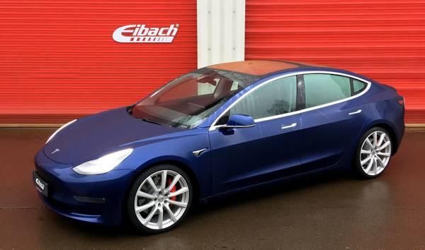 Bilde av Eibach senke sett Tesla Model 3 2wd China