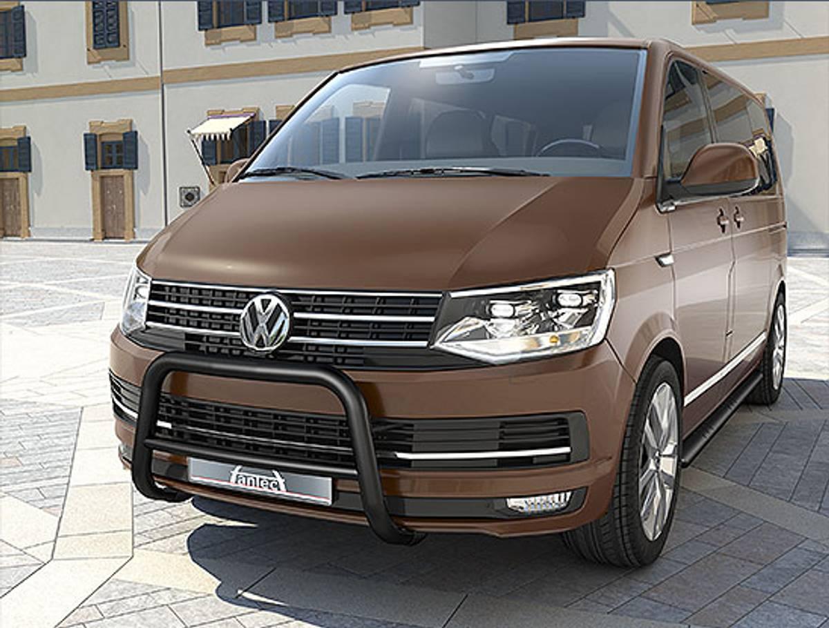 VW T6 EU-beskyttelsesbøyle for personer 60 mm med integrert tver