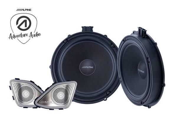 Bilde av Alpine SPC-108T6 Component Speaker System for VW T6 2015-2019